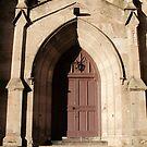 Dunfermline Abbey's Side Entrance by biddumy