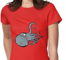 kraken Womens Fitted T-Shirt