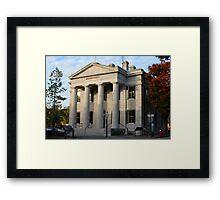 U.S. Custom House - Massachusetts Framed Print