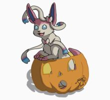 Spooky Sylveon by AwkwardHandsome