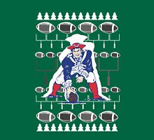 New England Patriots Ugly Holiday T-Shirt NFL Unisex T-Shirt