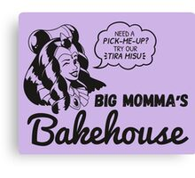 Big Momma's Bakehouse [Charcoal Ver.] Canvas Print