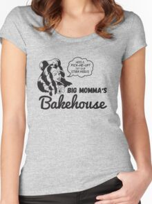 Big Momma's Bakehouse [Charcoal Ver.] Women's Fitted Scoop T-Shirt
