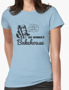 Big Momma's Bakehouse [Charcoal Ver.] Womens Fitted T-Shirt