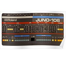 Roland Juno 106 Gear Poster