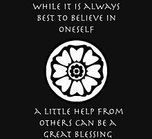 A Little Help From Others Can Be A Great Blessing - Iroh Quote Unisex T-Shirt