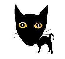Black Cat by Verene Krydsby