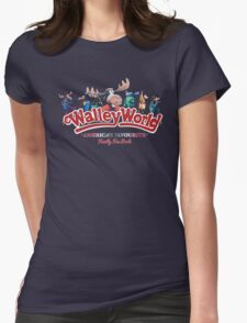 Walley World - All Characters logo America's Favourite Straight logo T-Shirt