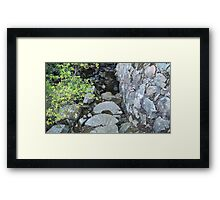 Mordecai Lincolns Grist Mill  Framed Print