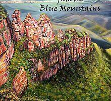 BLUE MOUNTAINS, Australia by Linda Callaghan