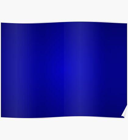 Minimalism Dark Blue Poster