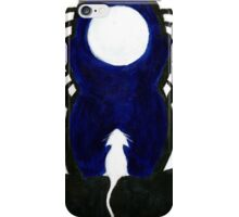 Cat and Moon iPhone Case/Skin