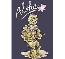Aloha from black lagoon Photographic Print