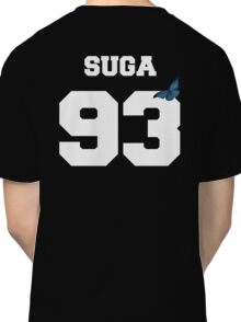 BTS- SUGA 93 Line Butterfly Jersey Classic T-Shirt