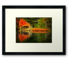 Shifting Memories of Autumn  Framed Print