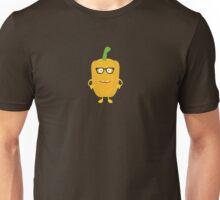 Yellow nerd Capsicum Unisex T-Shirt