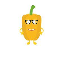 Yellow nerd Capsicum by ilovecotton