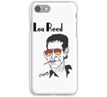 Lou Reed caricature iPhone Case/Skin