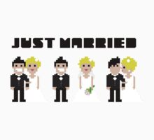 Just Married One Piece - Short Sleeve