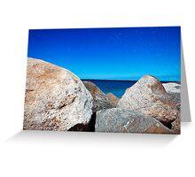 Rocky Sea Greeting Card