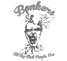 Bonkers Photographic Print