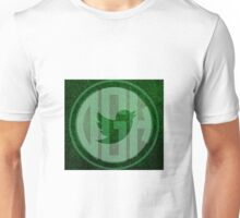Digital Growth Hackers Green Bird Logo Unisex T-Shirt