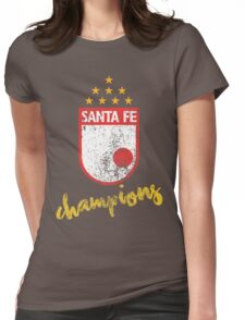 """Independiente Santa Fe """"Campeon Sudamericano"""" Womens Fitted T-Shirt"""