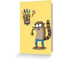 Rigby Bandicoot Greeting Card