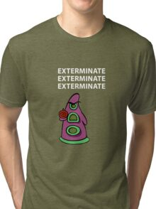 Exterminate/ day of tentacle Tri-blend T-Shirt