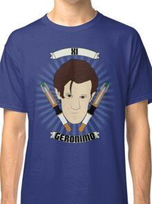 Doctor Who Portraits - Eleventh Doctor - Geronimo Classic T-Shirt
