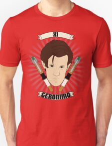 Doctor Who Portraits - Eleventh Doctor - Geronimo T-Shirt