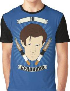 Doctor Who Portraits - Eleventh Doctor - Geronimo Graphic T-Shirt
