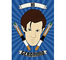 Doctor Who Portraits - Eleventh Doctor - Geronimo Photographic Print