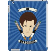 Doctor Who Portraits - Eleventh Doctor - Geronimo iPad Case/Skin