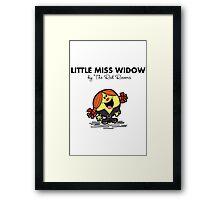 Little Miss Widow Framed Print
