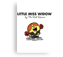 Little Miss Widow Canvas Print