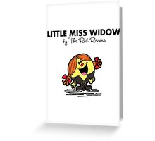 Little Miss Widow Greeting Card