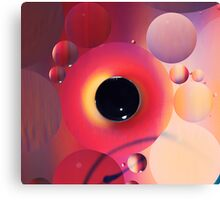 Pop Jukebox Canvas Print