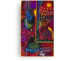 L is for LIFE Canvas Print