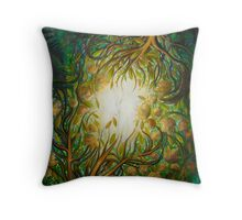 """Autumn Glow"" Throw Pillow"