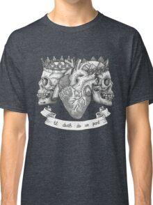 'Til Death Do Us Part, Life and Death Illustration Classic T-Shirt