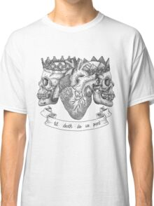 'Til Death Do Us Part, Life and Death Illustration Classic T-Shirt