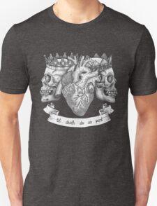 'Til Death Do Us Part, Life and Death Illustration Unisex T-Shirt