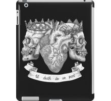 'Til Death Do Us Part, Life and Death Illustration iPad Case/Skin
