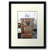 Love is strong than death 2 Framed Print