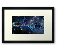 High-Speed Tube Travel Framed Print