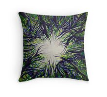 """Awakening"" Throw Pillow"