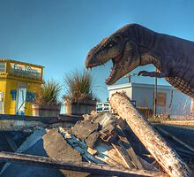 Seaside Funtown Dino by Rob Lybeck