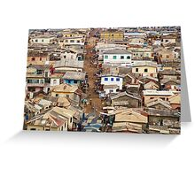 Ghana, West Africa Greeting Card