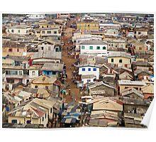 Ghana, West Africa Poster